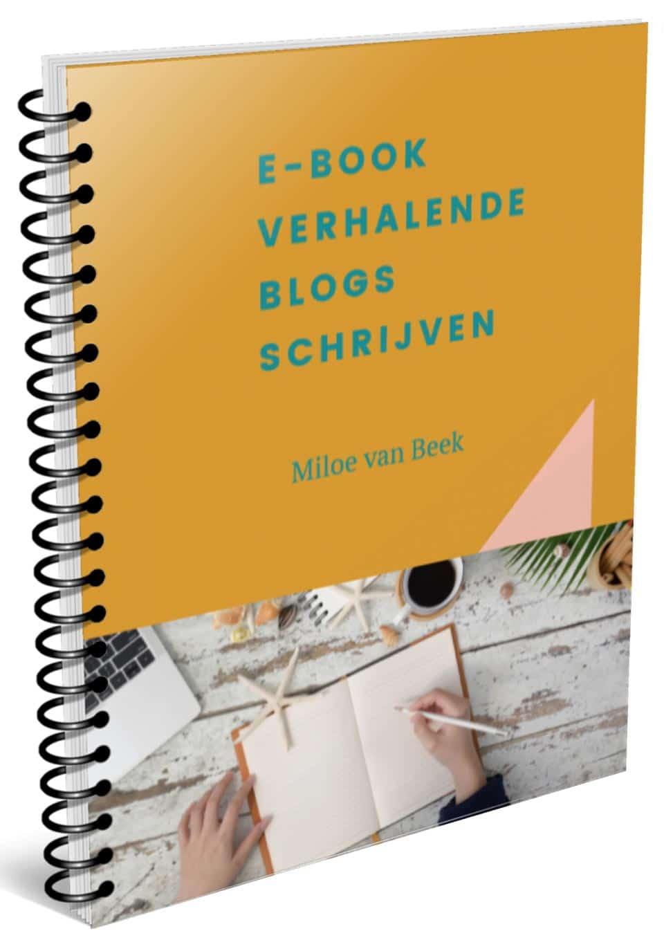 verhalende blogs schrijven